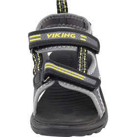 Viking Footwear Skumvaer - Sandales Enfant - jaune/gris
